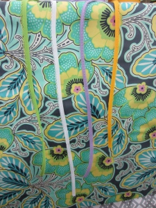 fabric for table skirt, ribbons and fabric, fabric for girls' room, fabric for kid's room