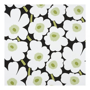 kaivo marimekko, black and white fabric, black and white marimekko pattern, fabric for roller shade, fabric for laundry room, fabric to go with black and white rug